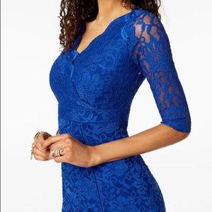 Thalia Sodi Lace Sheath Dress - Size 10